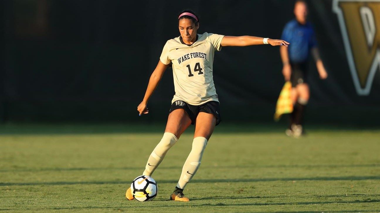 Perea Signs With NC Courage - Wake Forest University Athletics