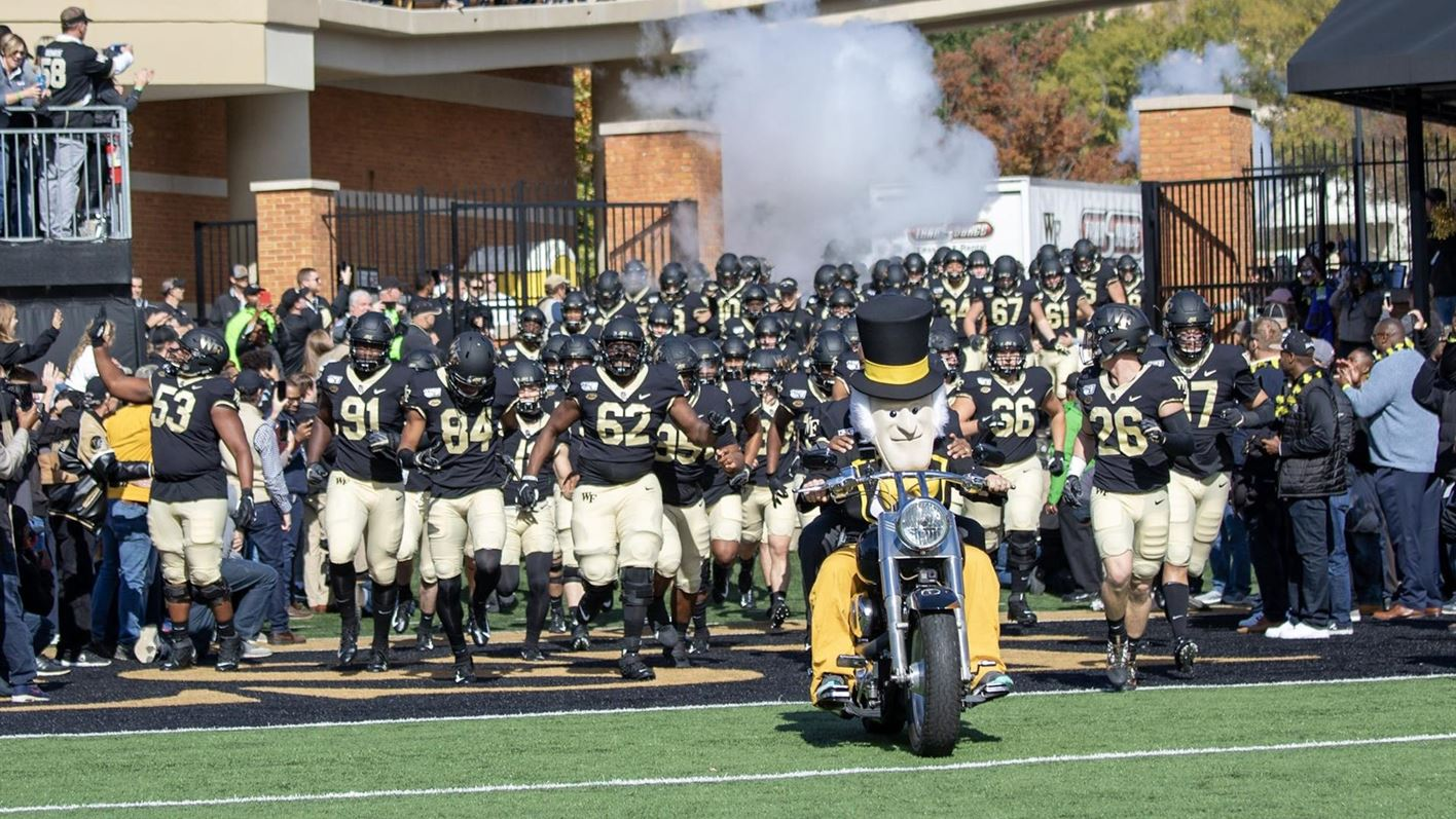 Wake Forest To Play Michigan State In 2019 New Era Pinstripe