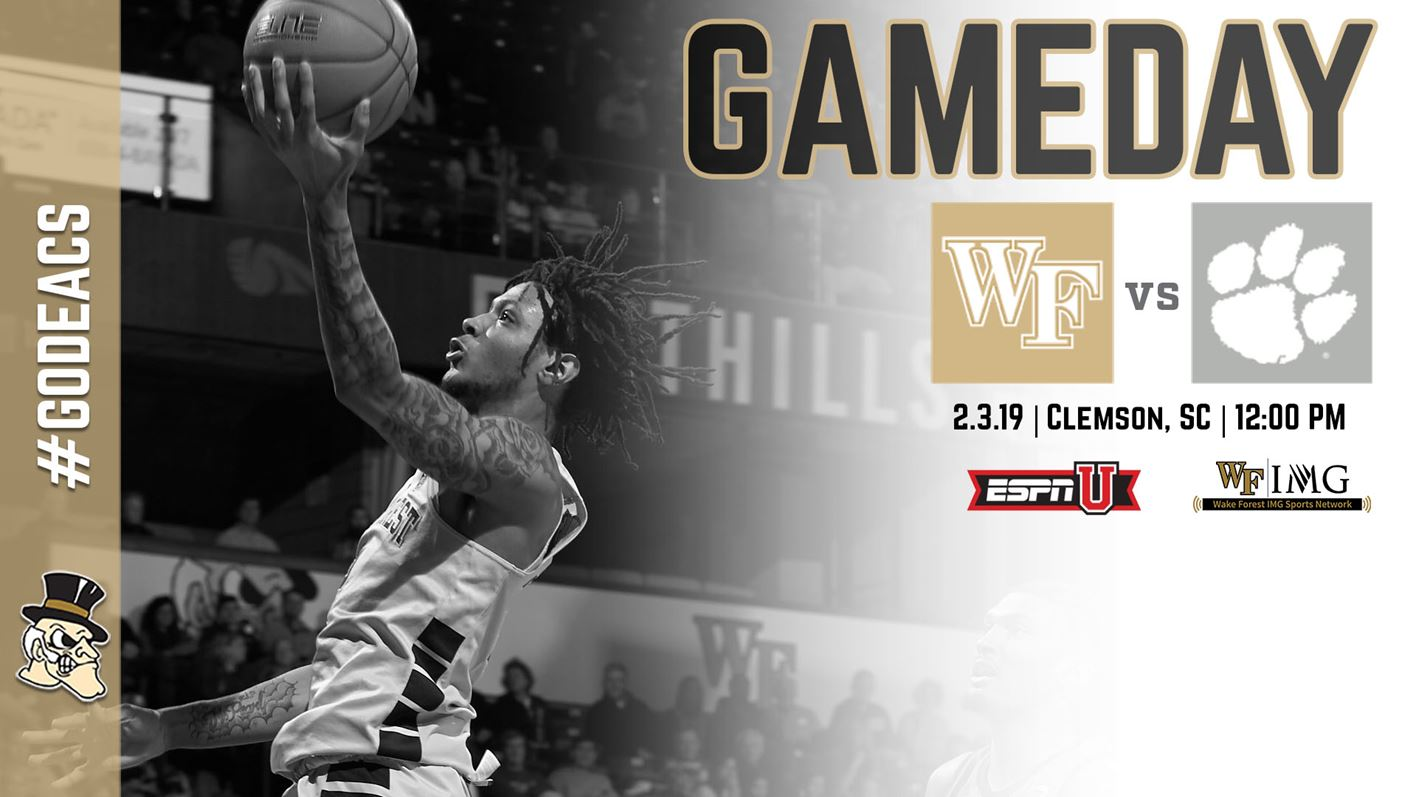 2f47348d4613 Gameday Central  Clemson - Wake Forest University Athletics