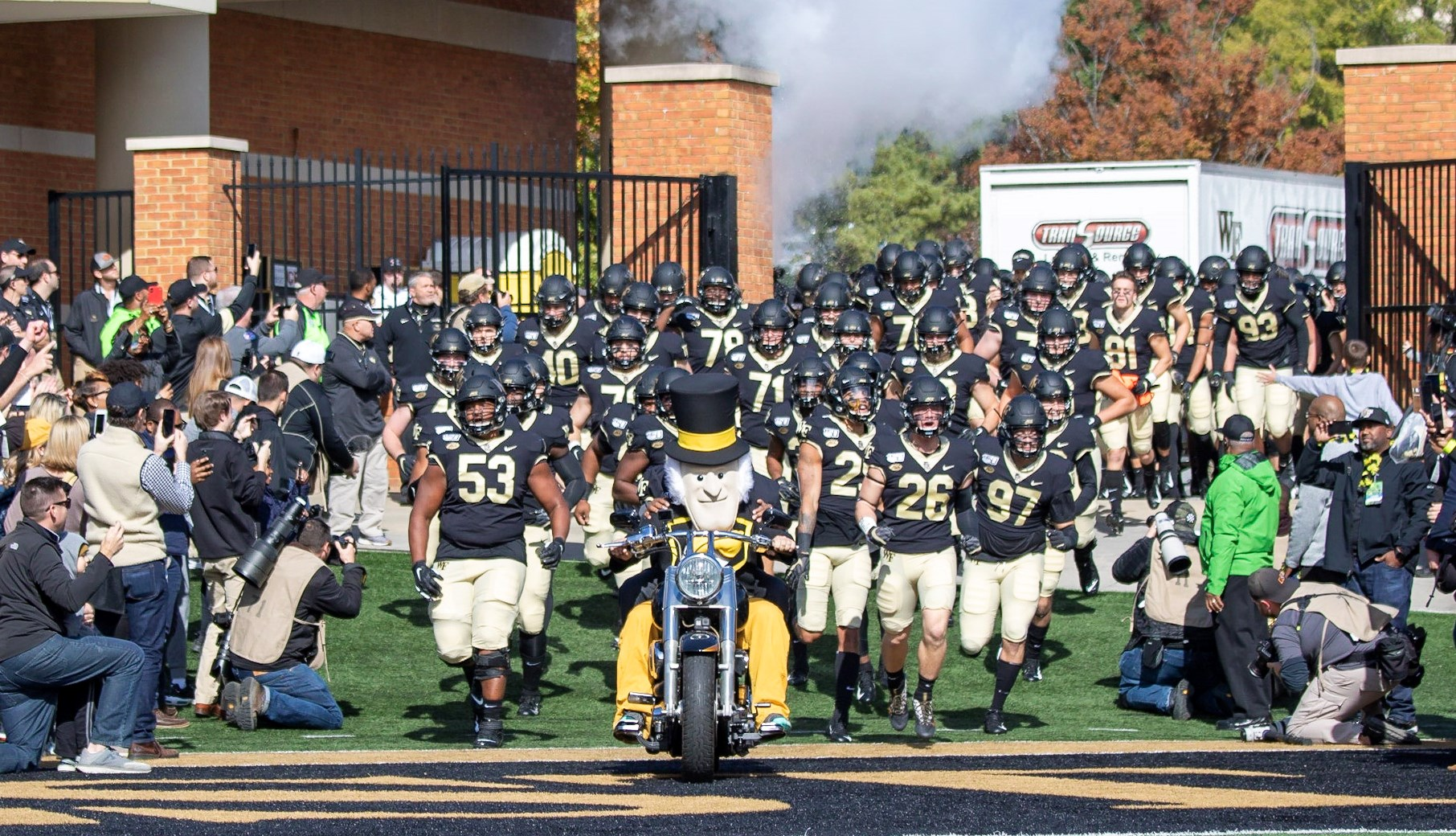 Wake Forest Announces 2020 Football Schedule Wake Forest University Athletics
